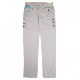 Pantaloni dama croiala tip jeans design cu nasturi
