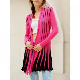 Cardigan dama cu maneci lungi in culori solide