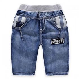 Pantaloni  scurti pana la genunchi, denim baieti