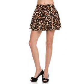 Fusta Scurta Leopard