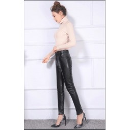 Pantaloni piele naturala -B