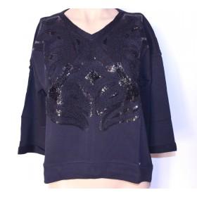 Bluza dama maneci lungi cu strasuri Design AMY GEE Italia