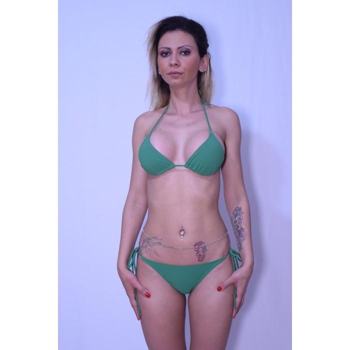 Costum de baie DIVA verde