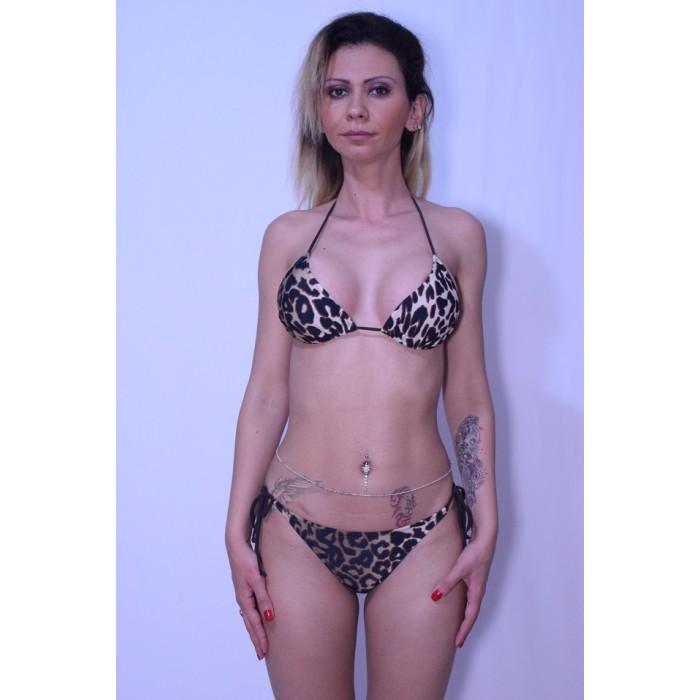 Costum de baie DIVA imprimeu leopard
