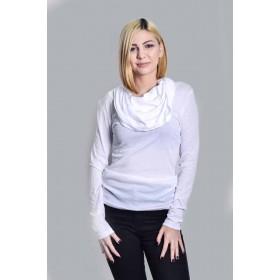 Bluza -helanca crem Stefanel