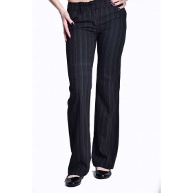 Pantaloni dama cu dungi verticale TOM TAYLOR