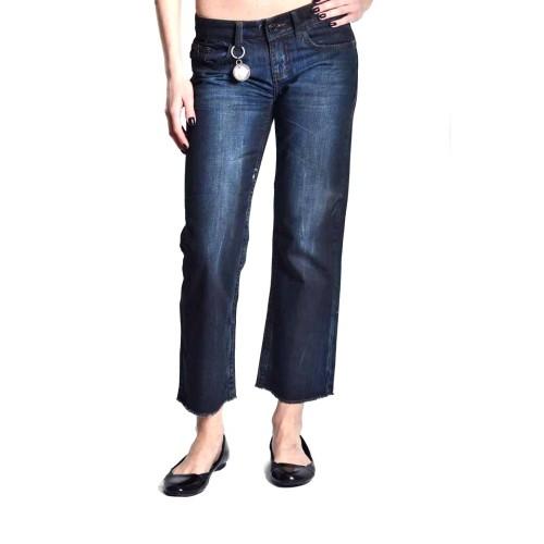 Blugi(Jeans) croiala dreapta denim inchis Stefanel